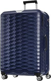 Samsonite 111638 Polygon Hard Side Spinner Suitcase, Blue, 75 Centimeters