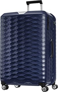 Samsonite 111638 Polygon Hard Side Spinner Suitcase, Blue, 75 Centimeters