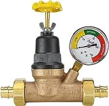 Apollo EPXPRV34WG Water Pressure Regulator w/Gauge, Bronze