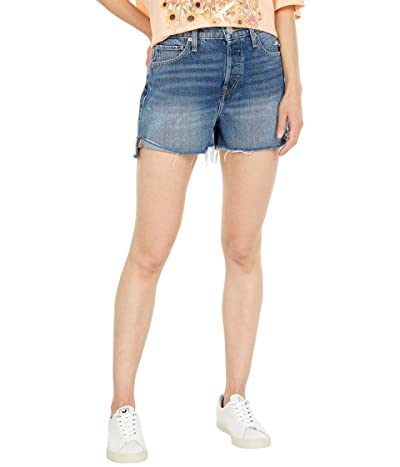 Hudson Jeans Lori High-Rise Shorts in Sunny Day