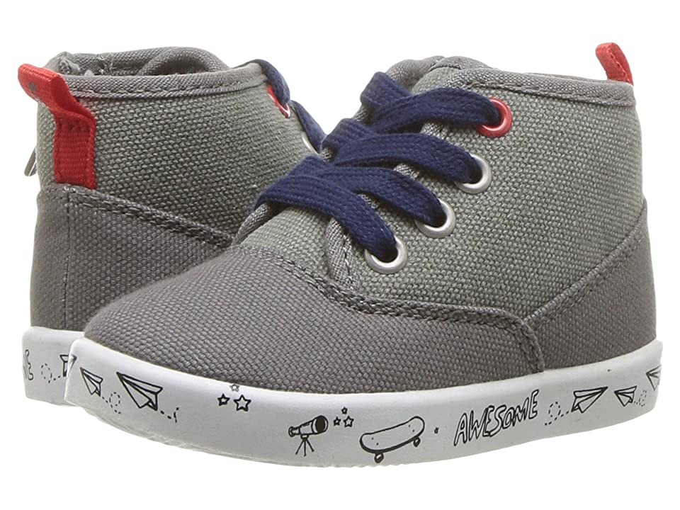 Carters Mack (Toddler/Little Kid) (Grey) Boy