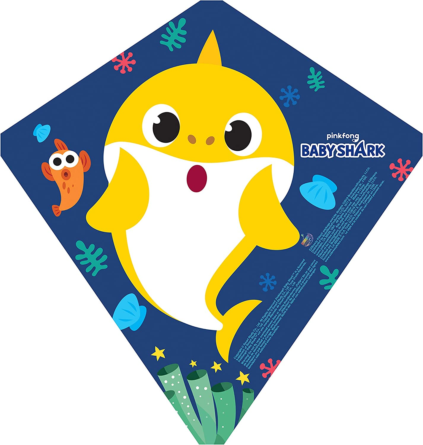 brainstorm Baby Kite Shark Courier shipping San Francisco Mall free