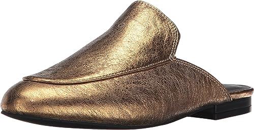 Kenneth Cole New York Woherren Wallice Slip On Mule Leather, Gold, 6.5 M US