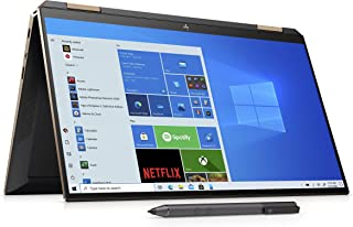 HP Spectre 13 x 360 13.3-Inch Full HD Touch-Screen Convertible Laptop with Stylus - (Grey) (Nightfall Black) (Intel Core i...