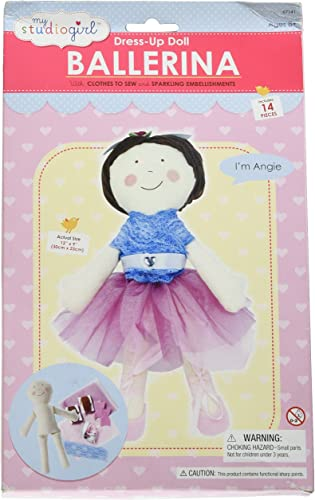My Studio Girl Ballerina Angie Sew Kit