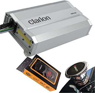 $129 » Clarion XR5420 Class D 4-Channel 400W Maximum Power Handling Car Audio Amplifier Sound System Subwoofer Speaker Amp with G...