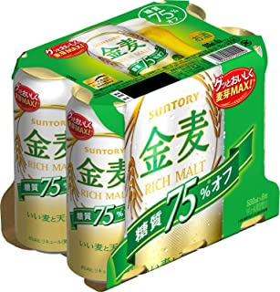 サントリー 金麦 糖質75%オフ 500ml×6缶