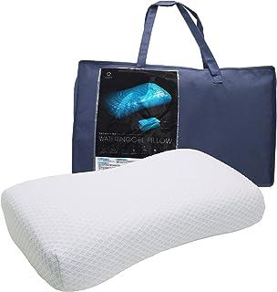 【Amazon.co.jp 限定】 東京 西川 SEVENDAYS ジェル & ウレタン 枕 55X31X10cm ジェルとウレタンのハイブリッド枕 もちもち触感 しっかりとした厚み セブンデイズ ブルー EH08805513B