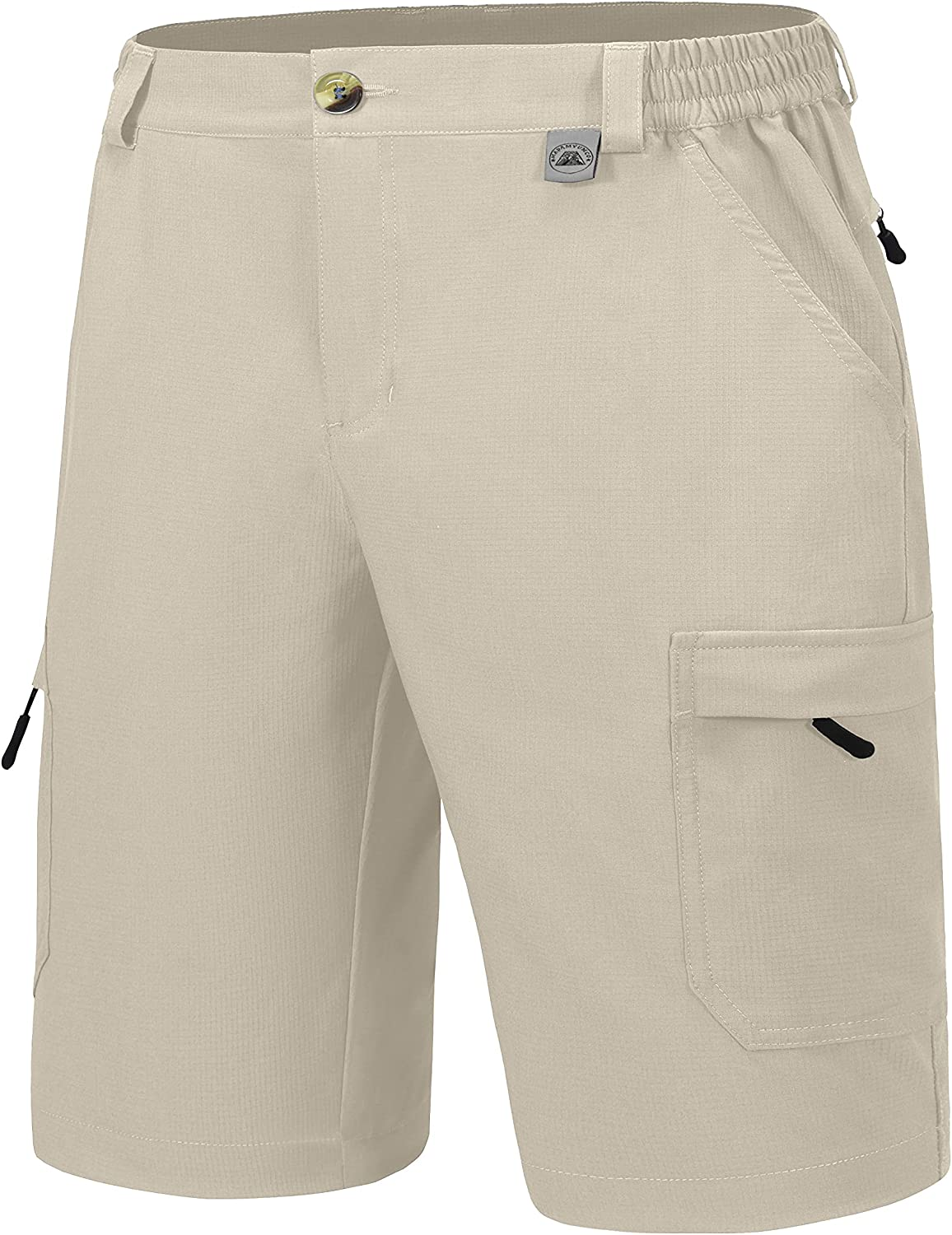 Mapamyumco Men's Ranking TOP2 Quick Dry Stretch Hiking Shorts Inch Cargo 10 SEAL limited product L