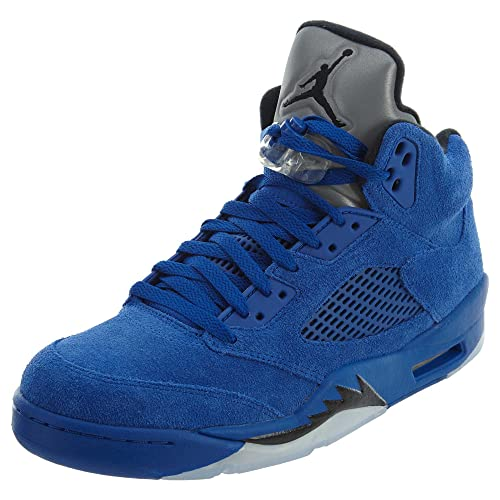 outlet store c269f 5b79e Jordan Men s Air 5 Retro, Game Royal Black