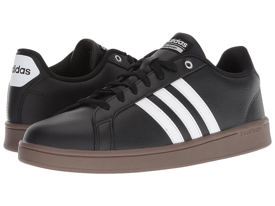 adidas Cloudfoam Advantage (Core Black/Footwear White/Gum) Men