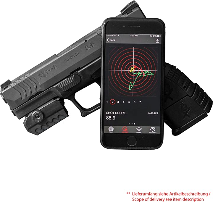 Mantisx le armi da fuoco training system B01GF81M5W