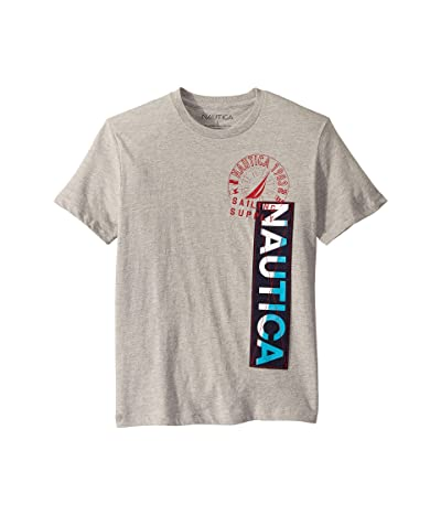 Nautica Nautica Vertical T-Shirt (Grey Heather) Men