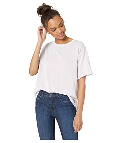 Free People Cassidy Tee (Lilac) Women