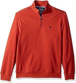 Izod Men's Advantage Performance Fleece Long Sleeve 1/4 Zip Soft Pullover