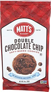 Matts, Cookies Double Chocolate Chip, 14 Ounce