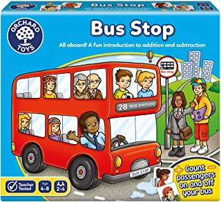 Orchard Toys Bus Stop Board Game, multi-colour