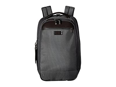 Briggs & Riley @work Medium Slim Backpack (Grey) Backpack Bags
