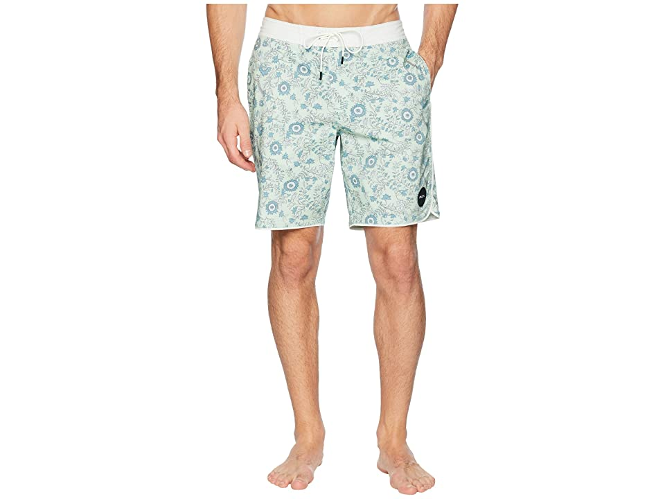 RVCA Trinity 19 Boardshorts (Patina Green) Men