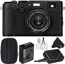 Fujifilm X100F 24.3 MP APS-C Digital Camera Bundle with Carrying Case + More - International Version