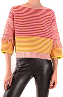 TWIN-SET Luxury Fashion Womens MCBI38632 Pink Jumper | Season Outlet