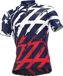 Men's American Patriot Short Sleeve Jersey, Cargo Bib Shorts, or Kit Bundle