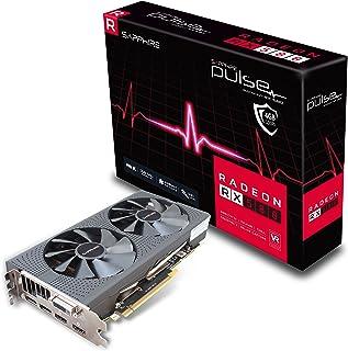 Sapphire Pulse Radeon RX 580 - Tarjeta Gráfica (4 GB, GDDR5, 256 bit, 3840 x 2160 Pixeles, PCI Express x16 2.0)