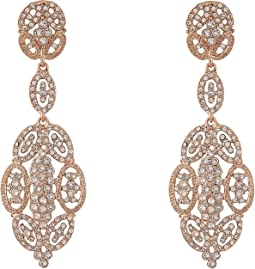 Jules Glamorous Statement Swarovski Earrings