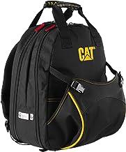 "Mochila de ferramentas Cat Pro 1680D de poliéster resistente, 240047, Preto, 17"" with 31 Pockets"