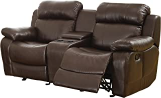 Best leather reclining loveseat with cup holders Reviews