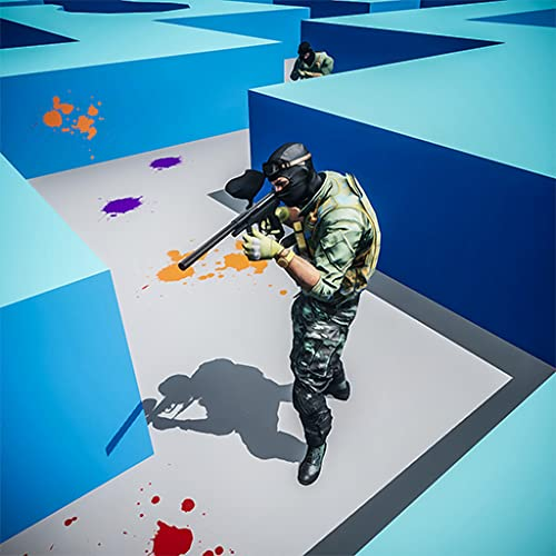 Paintball Maze Fps Shooter