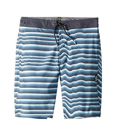 Volcom Kids Aura Boardshorts (Big Kids) (Vintage Blue) Boy