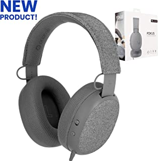 ONANOFF Fokus Headphones, Premium Concentration Over-Ear Headphones, Designed with Two Unique Listening Modes: FokusMode and MusicMode, Adjustable, Built-in Microphone, and Passive Noise Cancellation