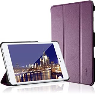 JETech Case for Samsung Galaxy Tab A 8.0 inch 2015 Model Tablet (NOT for 2017 Model), Smart Cover with Auto Sleep/Wake Feature (Purple)