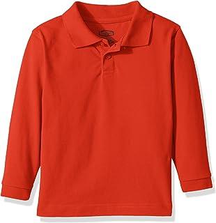 24cefa67d Classroom School Uniforms Kids' Toddler Preschool Unisex Long Sleeve Pique  Polo