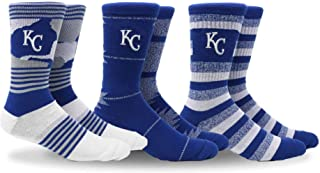 PKWY Unisex MLB Clubhouse Collection 3-Pack Socks