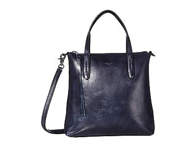 Botkier Highline Satchel (Navy) Handbags