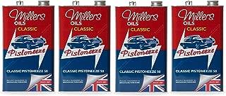 Millers Classic Pistoneeze 50 Aceite de Motor Monograde bajo detergente, 20 litros