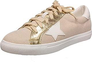 Bellmora Nature Breeze Dale Multi-Fabric Lace-Up Fashion Sneaker