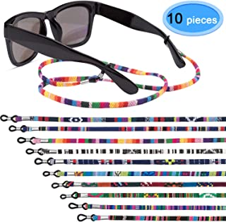 sharprepublic Kinder Silikon Anti Rutsch Brillen Brillenband 8er Pack