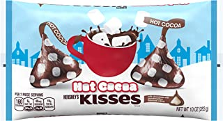 Hershey's Kisses Holiday Hot Cocoa Chocolate Candy, 10 Ounce