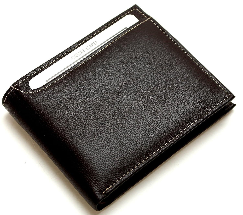 [メンズ カンパニー]Men's company 二つ折り財布 前面ポケット仕様