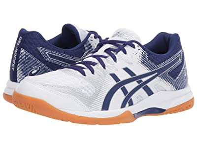 ASICS GEL-Rocket(r) 9 (White/Dive Blue) Women