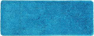Artiron Turquoise Bathroom Rugs Runner, Luxurious Shaggy Bath Floor Rug Mats Plush Non Slip Machine Washable Soft Microfiber Carpet for Tub Shower Bathroom Doormat (18×47 in)