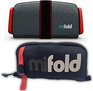 以色列 mifold 儿童便携式汽车安全座椅 (适合3-12岁) 深灰色 (带收纳包)