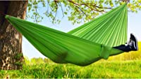 LLCP Travel Camping Hammock, Portable Fast-Drying Nylon Hammock, 270Cm*140Cm Outdoor Indoor Garden Hammock