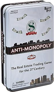University Games Anti-Monopoly Game Tin