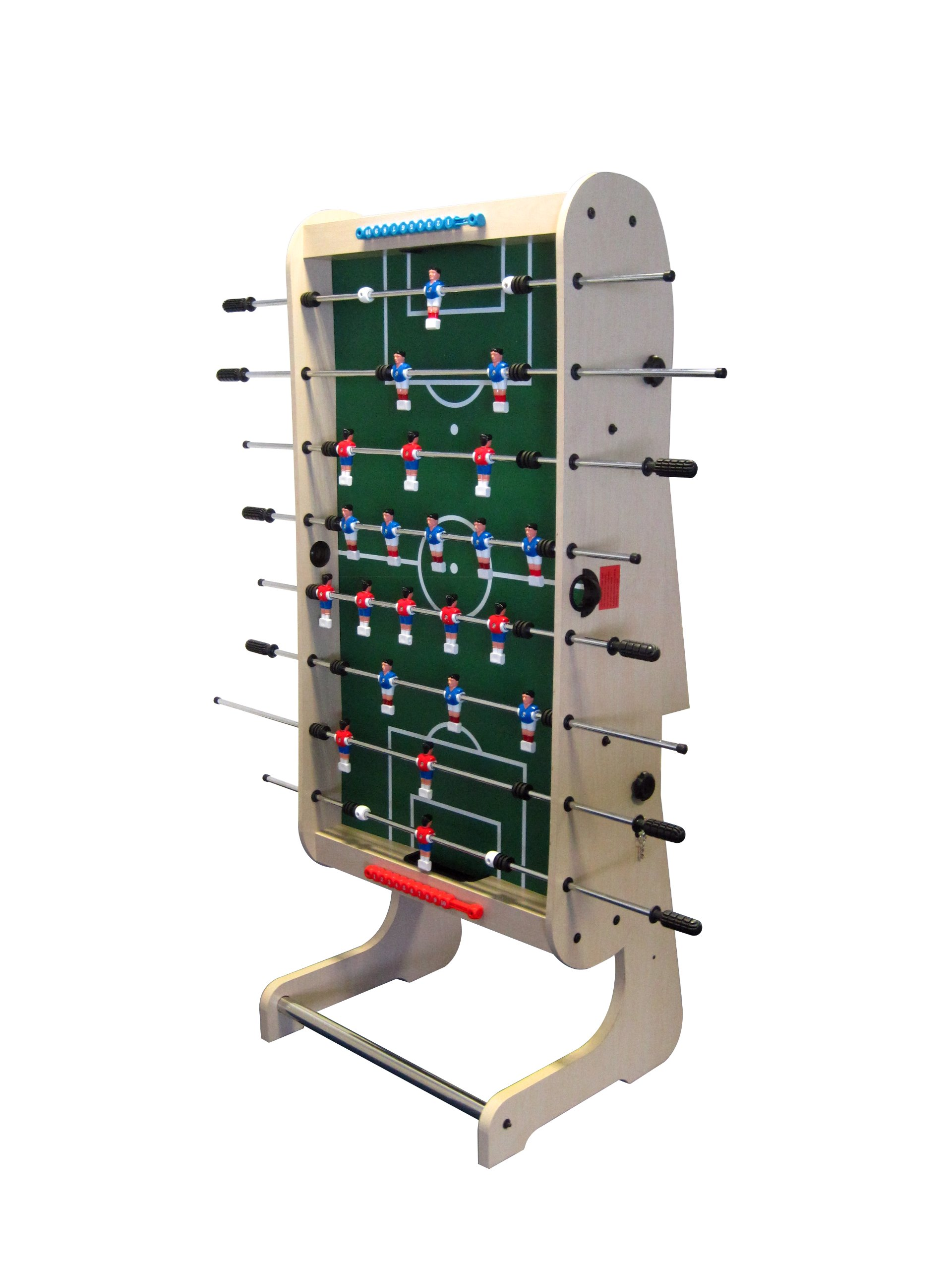 BCE Table Sports Riley Olympic Pro HFT-5N - Futbolín plegable (1,4 m): Amazon.es: Hogar