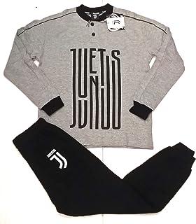 Pijama Juventus Producto Oficial Juve Hombre Adulto (Gris Melange, XXL)