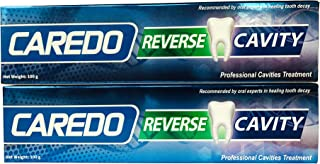 CAREDO Toothpaste Treatment Cavities for Adult, The ONLY Toothpastes to Cure Repairing Tooth Decay Dental Caries, 3.5 OZ 2 Tubes Spearmint